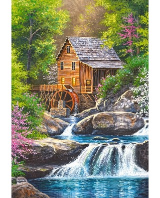 Puzzle Castorland - Spring Mill, 1000 piese (104055)