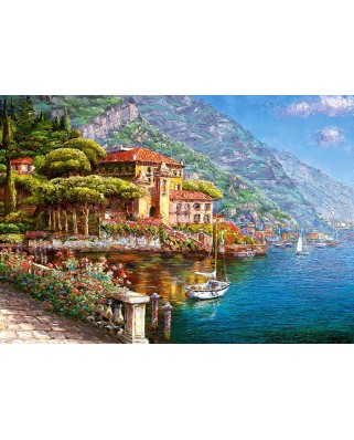 Puzzle Castorland - The Abbey Bellagio, 1.000 piese (103676)