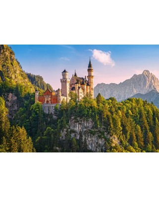 Puzzle Castorland - View Of Neuschwanstein Castle, 1.000 piese (103706)