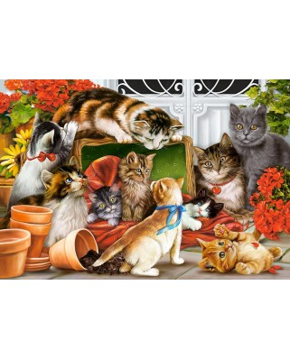Puzzle Castorland - Kittens Play Time, 1500 piese (151639)