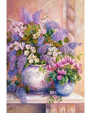 Puzzle Castorland - Lilac Flowers, 1500 piese (151653)