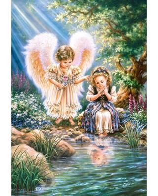 Puzzle Castorland - Mondays Angels, 1500 piese (151660)