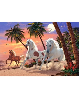 Puzzle Castorland - White Horses, 1500 piese (151691)
