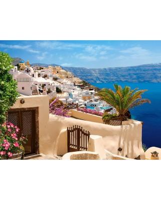 Puzzle Castorland - Santorini, Greece, 2.000 piese (200672)