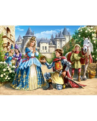 Puzzle Castorland - Charming Princesses, 70/120 piese (21017)