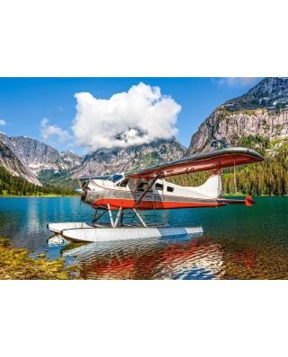 Puzzle Castorland - Floatplane on Mountain Lake, 500 piese (53025)