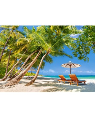 Puzzle Castorland - Leisure in Paradise, 500 piese (53100)