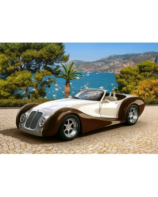 Puzzle Castorland - Roadster in Riviera, 500 piese (53094)