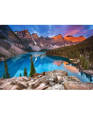 Puzzle Castorland - Sunrise at Moraine Lake, Canada, 500 piese (53001)