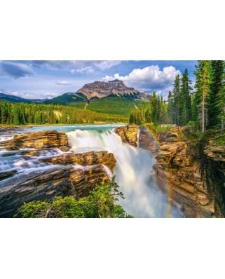 Puzzle Castorland - Sunwapta Falls Canada, 500 piese (53117)
