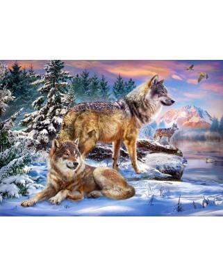 Puzzle Castorland - Wolfish Wonderland, 500 piese (53049)