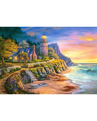 Puzzle Castorland - Lighting the Way, 1000 piese (104161)