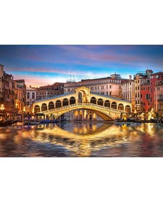 Puzzle Castorland - Rialto by Night, 1.000 piese (104215)