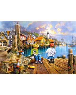 Puzzle Castorland - At the Dock, 1.000 piese (104192)