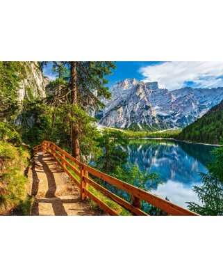 Puzzle Castorland - Braies Lake Italy, 1.000 piese (104109)