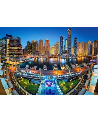 Puzzle Castorland - Dubai Marina, 1.000 piese (104222)