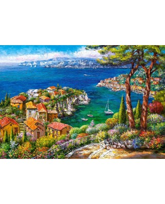 Puzzle Castorland - French Riviera, 1500 piese (151776)