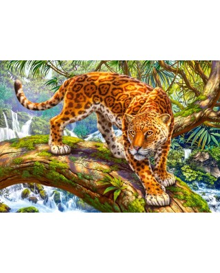 Puzzle Castorland - Sneaking Jaguar, 1500 piese (151752)
