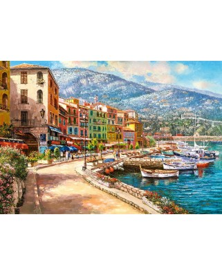 Puzzle Castorland - The French Riviera, 1500 piese (151745)