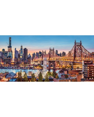 Puzzle Castorland - Good Evening New York, 4.000 piese (400256)