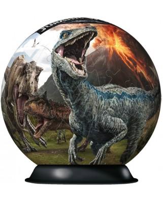 Puzzle glob Ravensburger - Jurassic World, 72 piese (11757)