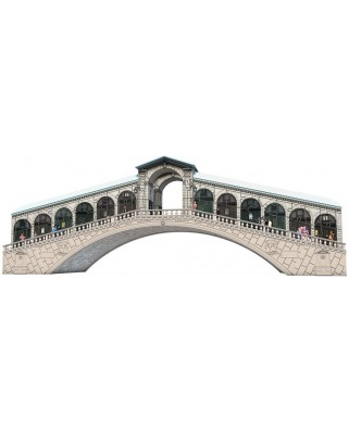Puzzle 3D Ravensburger - Podul Rialto, 216 piese (12518)