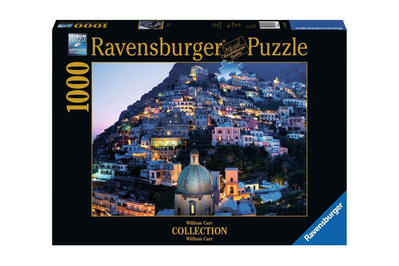 Puzzle Ravensburger - Positano, 1.000 piese (19866)