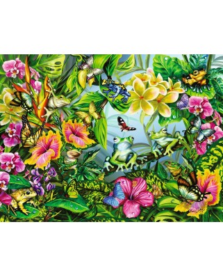 Puzzle Ravensburger - Gaseste Broscutele, 1500 piese (16363)