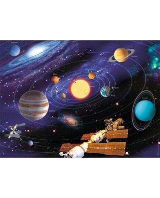 Puzzle Ravensburger - Sistemul Solar, 500 piese (14775)
