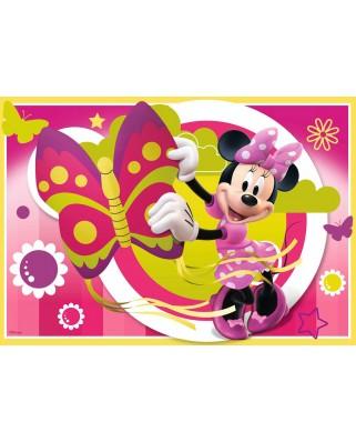 Puzzle Ravensburger - O Zi Cu Minnie, 2x24 piese (09047)