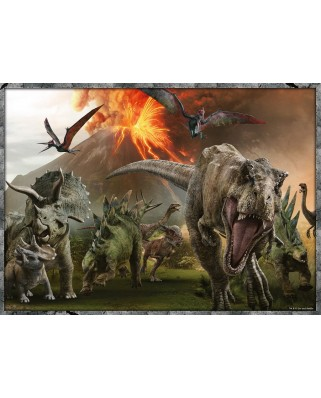 Puzzle Ravensburger - Jurassic World, 4x100 piese (06976)