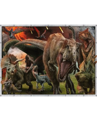Puzzle Ravensburger - Jurassic World, 100 piese (10915)