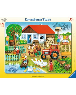Puzzle Ravensburger - Unde Sa Il Asez, 15 piese (06020)