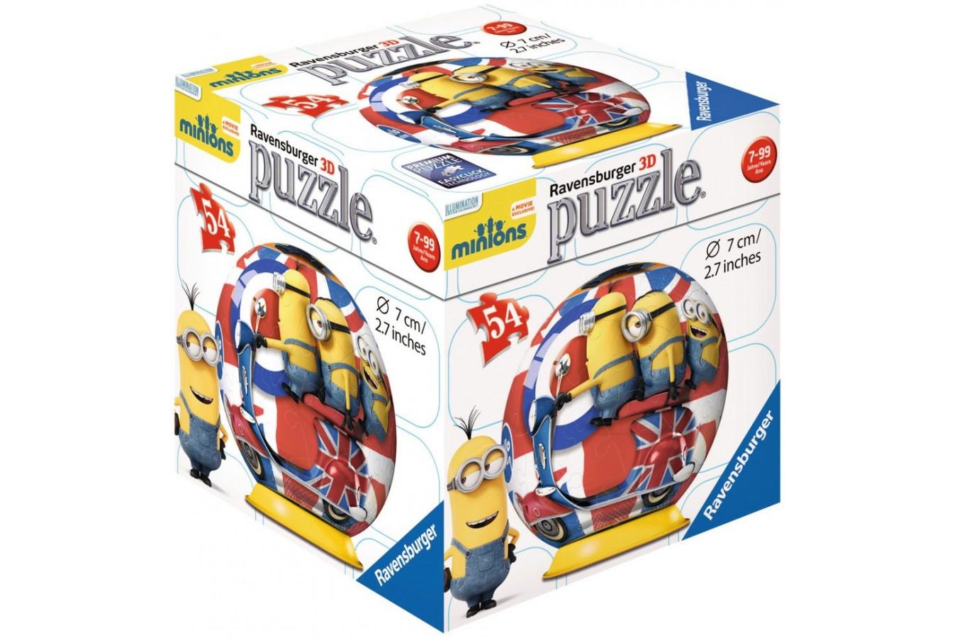 Puzzle Ravensburger - Minions, 54 piese (11914)