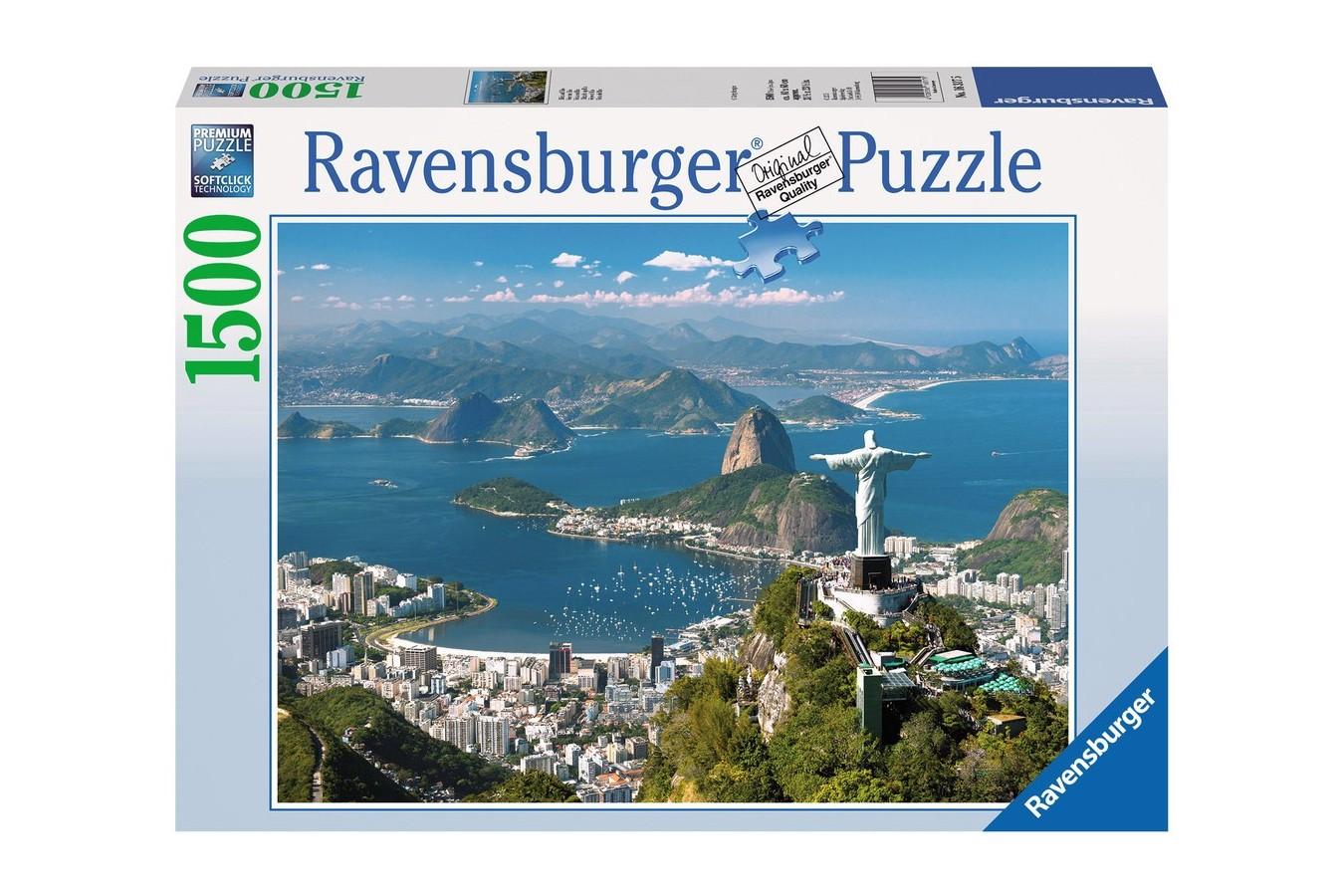 Puzzle Ravensburger - Vedere Din Rio, 1500 piese (16317)