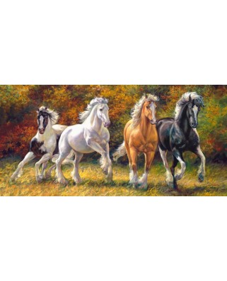 Puzzle Castorland - Born to Run, 4.000 piese (400119)
