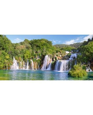 Puzzle Castorland - Krka Waterfalls,, 4.000 piese (400133)