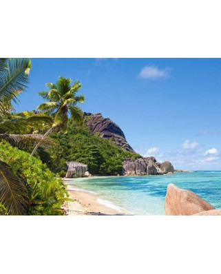 Puzzle Castorland - Tropical Beach Seychelles, 3000 piese (300228)