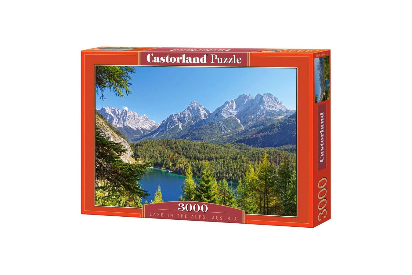 Puzzle Castorland - Lake in the Alps Austria, 3.000 piese (300242)