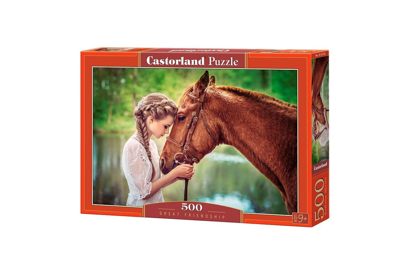 Puzzle Castorland - Great Friendship, 500 piese