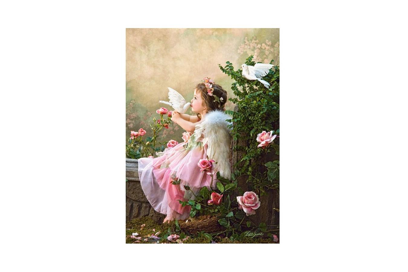 Puzzle Castorland - Angel Kisses, 1000 piese