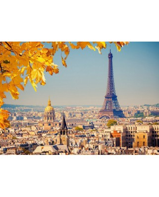 Puzzle Castorland - Autumn in Paris, 1000 piese