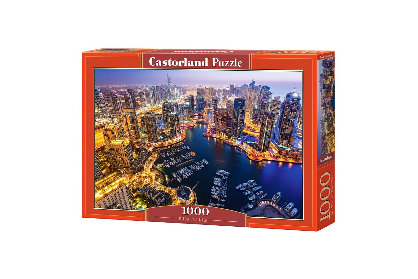Puzzle Castorland - Dubai at Night, 1000 piese