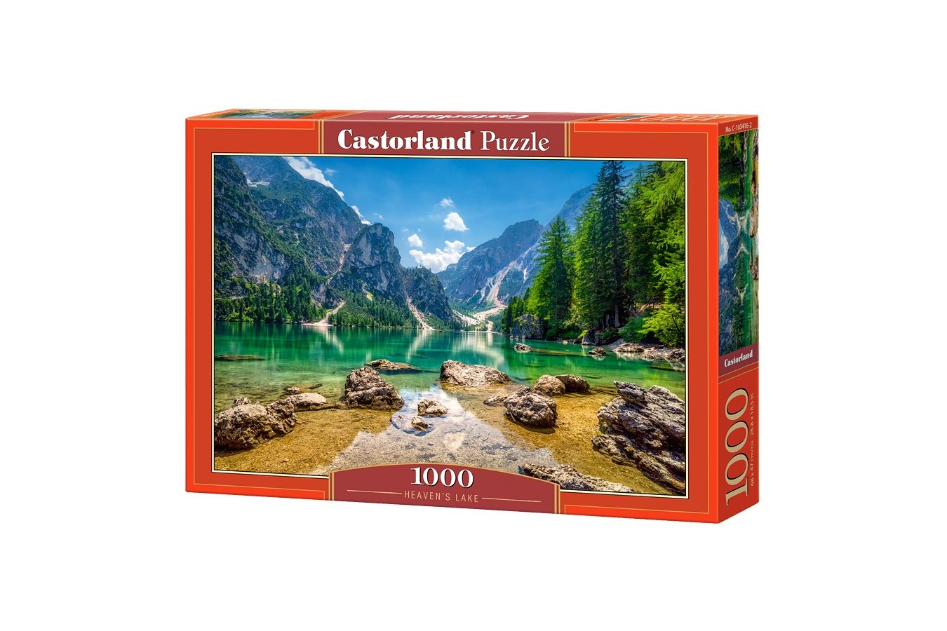 Puzzle Castorland - Heaven's Lake, 1000 piese