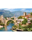 Puzzle Castorland - Mostar, Bosnia and Herzegowina, 1000 piese