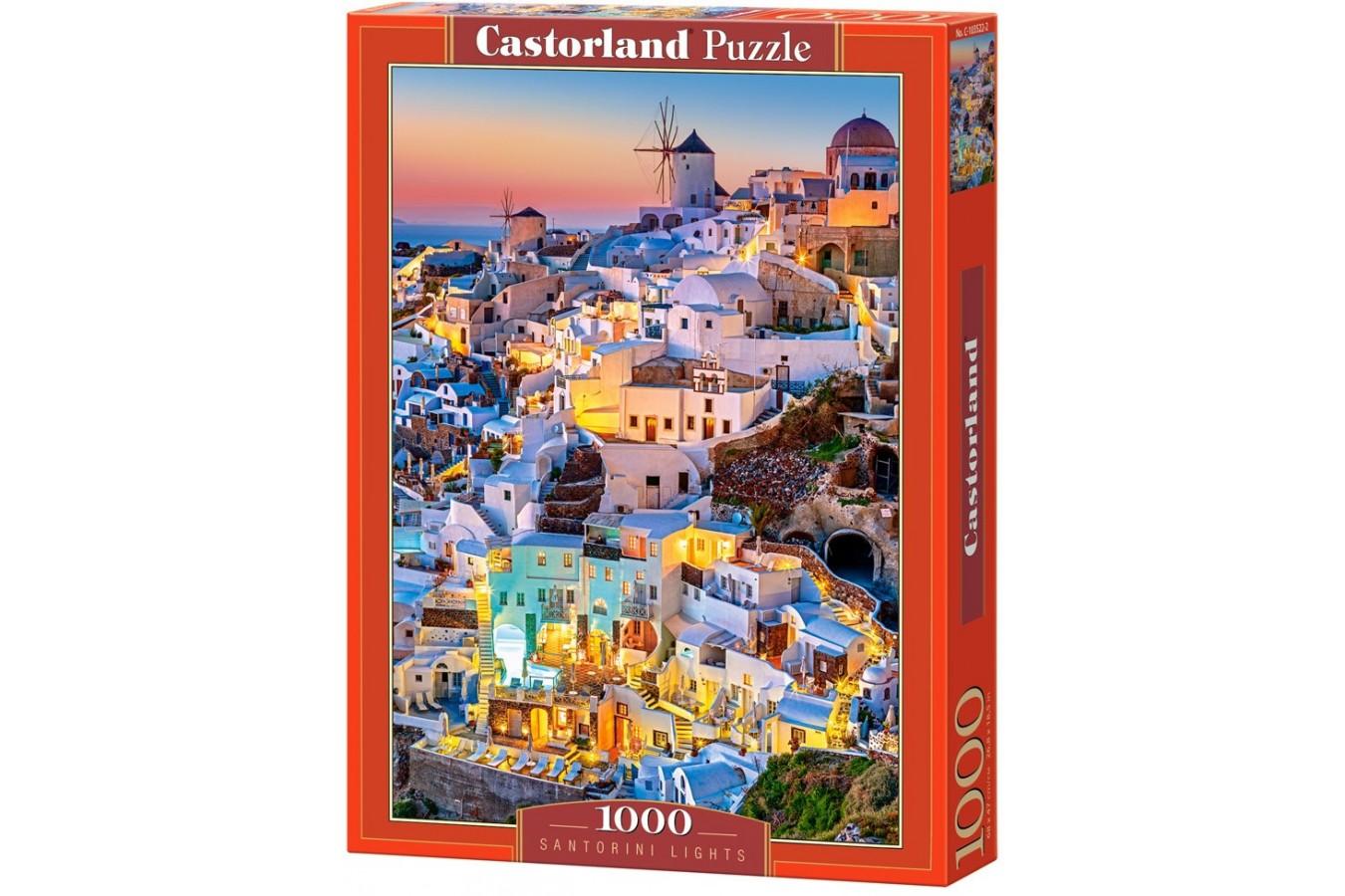 Puzzle Castorland - Santorini Lights, 1000 piese
