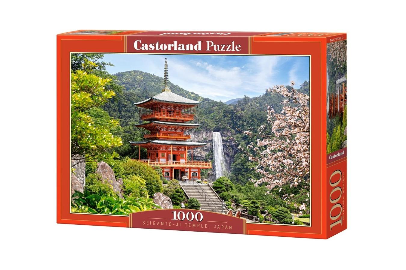 Puzzle Castorland - Seiganto-ji Temple Japan, 1000 piese