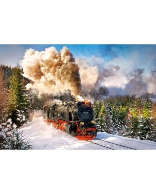 Puzzle Castorland - Steam Train, 1000 piese