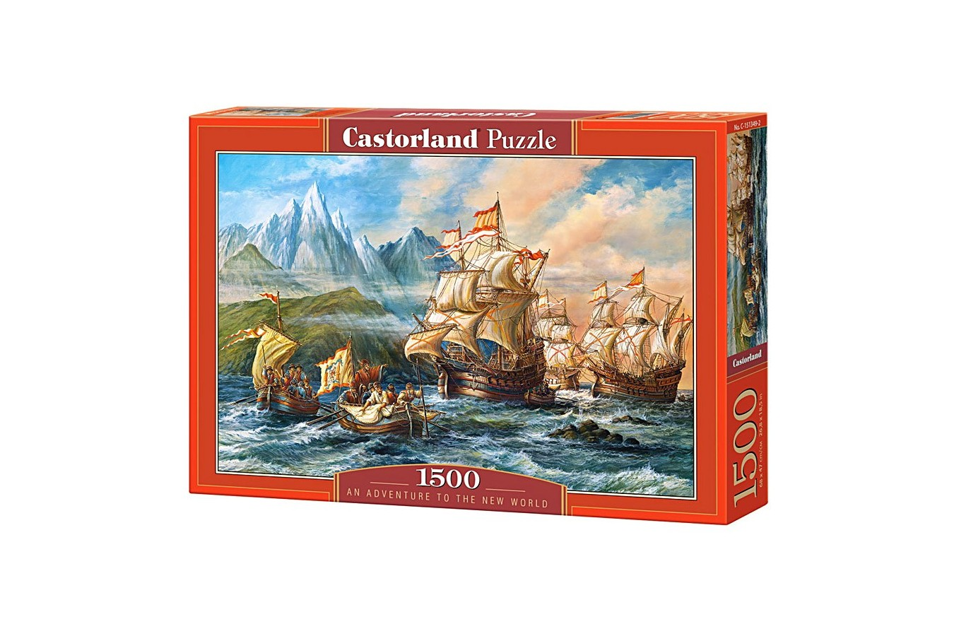 Puzzle Castorland - An Adventure to the New World, 1500 piese