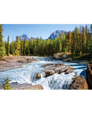 Puzzle Castorland - Athabasca River, Jasper National Park Canada, 1500 piese
